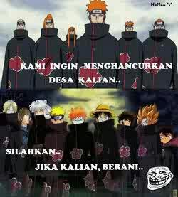 63 Gambar Naruto Lucu Bahasa Indonesia Terbaik